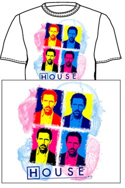 House MD Art T-shirt: Dr. Gregory House