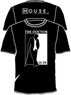 House MD T-shirt: The Doctor Is In