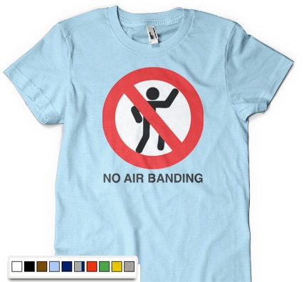 No Air Banding T-shirt