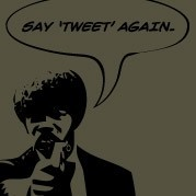 Say Tweet Again - Pulp Fiction T-shirt