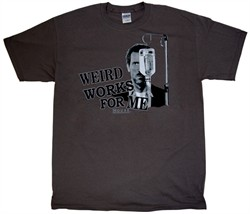 Weird Works For Me: House M.D. T-shirt